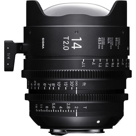 Sigma 14mm T2.0 Cine Prime (PL)