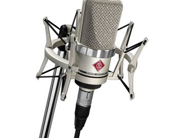 Rent: Neumann TLM 102 Studio Set (Nickel)