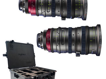 Rent: Angenieux Super35 EZ-1+EZ-2 PL Lens Kit