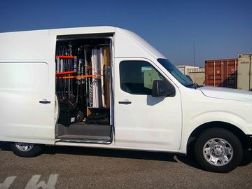 Rent: One Ton Cargo Van w/ Extensive Grip Package