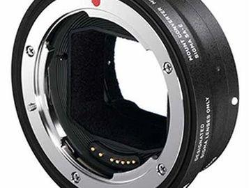 Rent: Sigma Mount Converter MC-11 Canon EF to Sony E