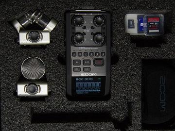 Rent: Zoom H6 Mixer w/ Hard Case