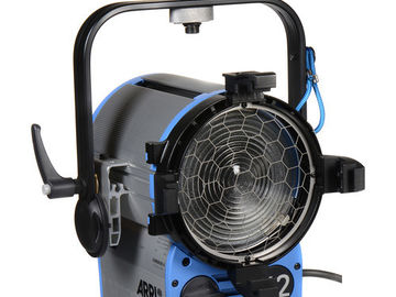 "Rent: Arri T2 2000 Watts Stand Mount Location Fresnel with 7"" Lens"