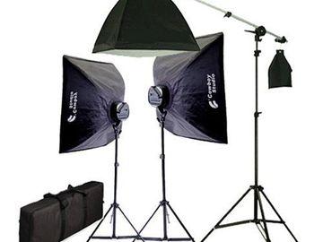 CowboyStudio 2275 Watt Digital Video Continuous Softbox Ligh