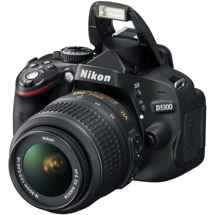 Nikon D5100 With 18-55mm f/3.5-5.6 Kit Lens & 50mm F/1.8