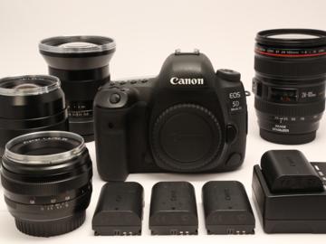 Rent: Canon EOS 5D Mark IV + 4 lens kit