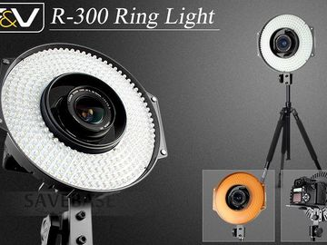 Rent: F&V (3x) Lighting R-300 LED Ring Light Kit