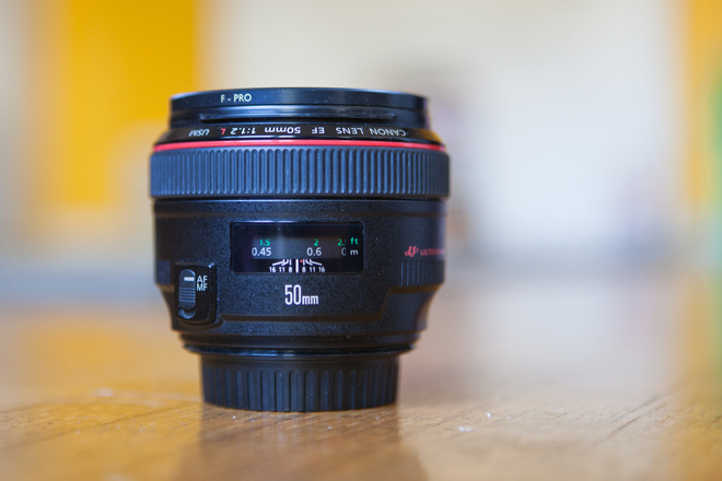 Canon 50mm 1.2 Lens