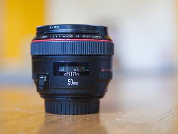 Rent: Canon 50mm 1.2 Lens