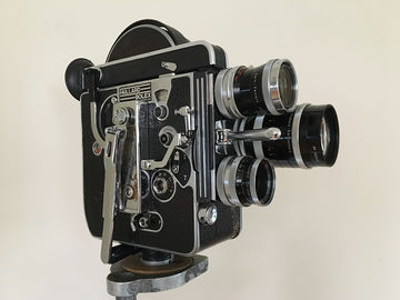 Rent:  Bolex H16 Reflex 16mm Film Camera w/ Switar Primes + more!