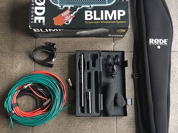 Rent: Audio Package Zoom H4n + Sennheiser ME64/66 K6- Boom & Blimp