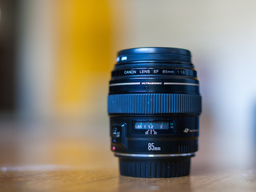 Rent: Canon EF 85mm 1.8 Telephoto Lens