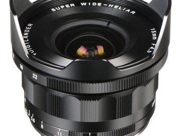 Rent:  Voigtlander Super Wide-Heliar 15mm f4.5 Aspherical III Lens