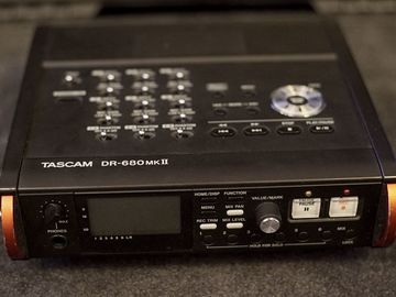 Rent: Tascam DR-680MKII Mix/Recorder w/ rechargeable 14hr Battery