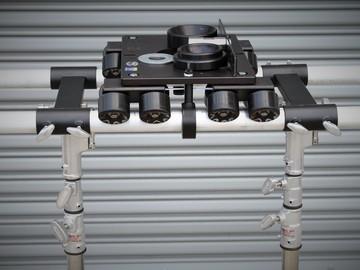 Rent: New Stealth Slider Kit w/stands, 6ft speedrail