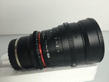Rent: Rokinon E-Mount 35mm and 85mm Cine Lens Set