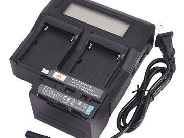 Rent: 3Li-ion NP-F970/F950/F930 Battery for Sony + Charger