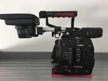 Rent: Canon C300 Mark II (MkII) Travel Case and Handle