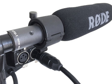 Rent: Rode NTG1 on-camera shotgun microphone