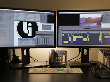 Rent: Mac Pro Editing Station with 2 monitors