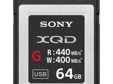 Rent: SONY 64GB XQD Card (G Series)