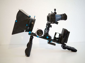 Rent: Mirrorless DSRL Cinema Handheld Rig Follow Focus GH5 A7S
