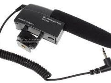 Rent: Sennheiser MKE400 with Deadcat and XLR Adapter