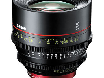 Canon CN-E 135mm T2.2 L F Cinema Prime Lens (EF Mount)