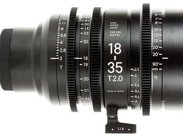 Rent: Sigma Cine 18-35mm T2 (EF)
