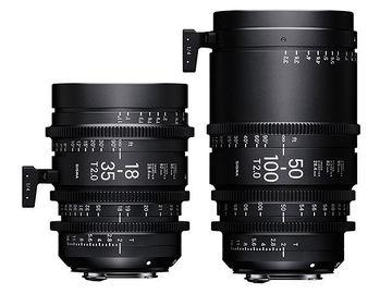 Rent: Sigma 18-35mm & 50-100mm Cine Zooms /// EF