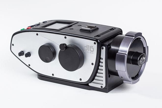 Digital Bolex D16 with Canon 8-64 T2.4 zoom lens + OPERATOR