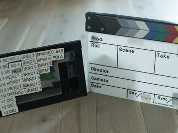 Rent: Alan Gordon Enterprises Color Combo Scene Slate w/ Tag Board