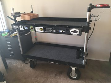 Rent: Back Stage Camera Cart