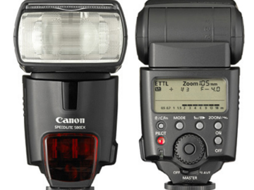 Rent: Canon Speedlite 580EX