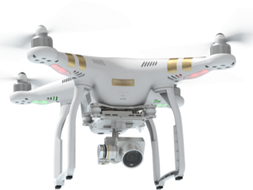 Rent: DJI Phantom 3 Professional 4k Drone