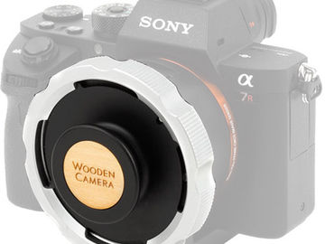 Rent: Wooden Camera E-Mount to PL Adapter