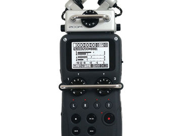 Rent: Zoom H5 Handy Recorder w/ 32gb SD Card