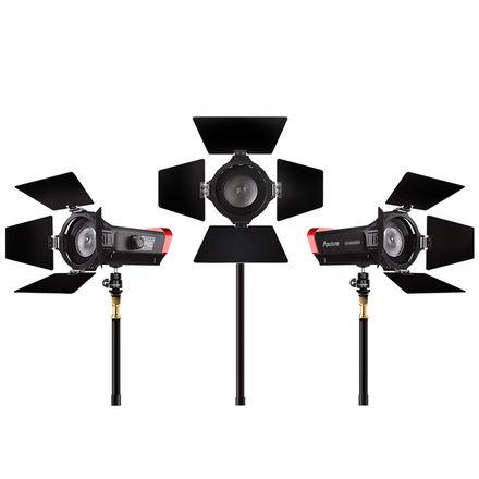 Aputure LS-mini 20 Flight Kit w/ 3x USB Power Banks