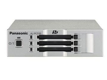 Rent: PANASONIC AJ-PCD30 USB 3.0 3 Slot P2 Reader