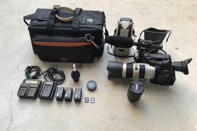 Canon C100 MKII, 24-70 f/2.8 ii, 70-200mm f/2.8L IS II & Mic