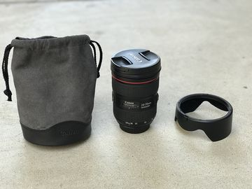 Rent: Canon EF 24-70mm f/2.8 L II USM with bag