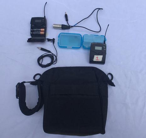 Sennheiser ew 100 ENG G3 Wireless Kit (with audio belt bag)