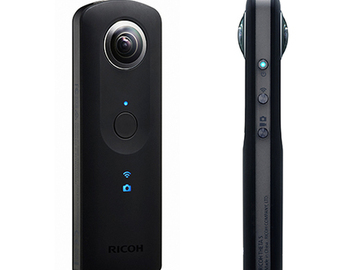 Rent: Ricoh THETA S 360˚(degree) VR Camera