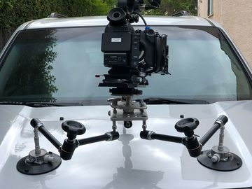 Rent: Camera Car Mount  Suction cup auto up to 50 lbs +
