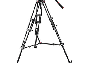 Rent: MANFROTTO 509HD Tripod Kit