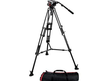 Rent: MANFROTTO 504HD Tripod Kit