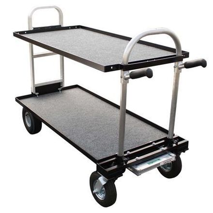 Backstage Magliner Camera Cart with Stand Caddy