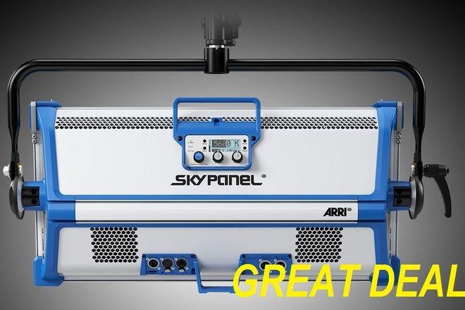 Arri Skypanel S60 - c w/ CHIMERA fab grid & stand
