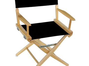 Rent: Short Director Chairs