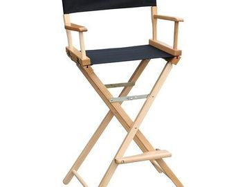 Rent: 4 x Tall Director Chairs